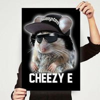 Cheezy E - High Quality Print 11 x 17 on the redditgifts Marketplace