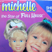 Vintage Michelle the Star of Full House Talking Doll 1990