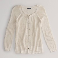 AEO Factory Open Stitch Cardigan | American Eagle Outfitters