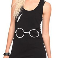 Harry Potter Bolt Girls Tank Top - 10006800