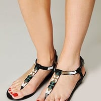 Free People Fae Beaded Mini Wedge