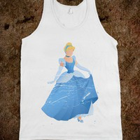 The Wishful Princess (Tank) - Once Upon A Time - Skreened T-shirts, Organic Shirts, Hoodies, Kids Tees, Baby One-Pieces and Tote Bags