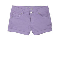 Olivia Sateen Short Thistle Purple