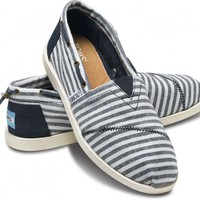Navy Stripe Nautical Women&#x27;s Biminis