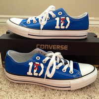 One Direction Inspired Converse Shoes