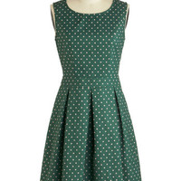 Emerald Chic Dress | Mod Retro Vintage Dresses | ModCloth.com