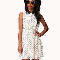Cutout Cross Dress | FOREVER 21 - 2042969537