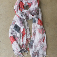 Rainy Day Scarf [3908] - $14.00 : Vintage Inspired Clothing &amp; Affordable Fall Frocks, deloom | Modern. Vintage. Crafted.