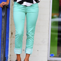 Color Me Skinny Jeans: Wintergreen | Hope&#x27;s