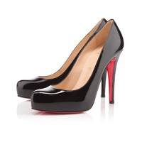 rolando 120mm black patent leather