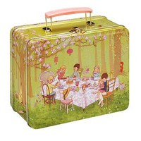 Ava's Tea Party Tin Lunch Box