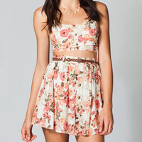 LOTTIE & HOLLY Floral Two Piece Skirt 210768957 | Short Dresses | Tillys.com