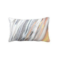 Silver Glow American MoJo Pillow from Zazzle.com