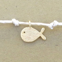Dainty Summer Fish Charm Bracelet Finding Dory Nemo Gold