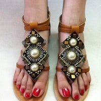 Boho flat Sandals from sniksa