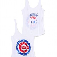 Chicago Cubs Low-back Tank