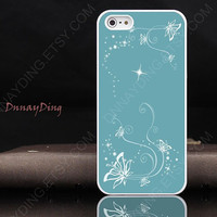 Iphone 5 case&amp;iPhone 4 case iPhone 4s case-Butterfly iPhone case,star  iPhone case,plastic Iphone case
