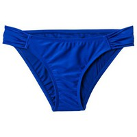 Xhilaration Junior&#x27;s Hipster Swim Bottom -Navy