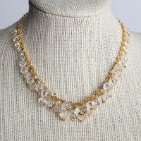 Handmade Bridal Swarovski Crystal Necklace 16 inches | peaceloveandallthingsjewelry - Wedding on ArtFire