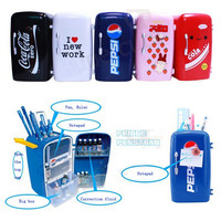 Infomation Symmetry Cool Stuffs Blog   Mini Fridge Shaped Pen Holder
