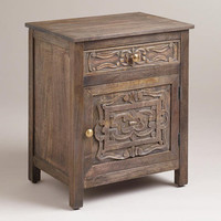 Kiran Carved Cabinet