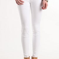 Bullhead Black Snow Storm White Skinniest Jeans at PacSun.com