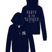 New York Yankees Funnelneck Perfect Zip - PINK - Victoria&#x27;s Secret