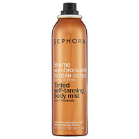 SEPHORA COLLECTION Tinted Self-Tanning Body Mist: Shop Bronzer & Self Tanner | Sephora