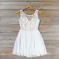 A Love Story Dress in White, Sweet Women&#x27;s Party &amp; Wedding Dresses