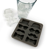 Kikkerland Design Inc   » Products  » Ice Tray + Gentleman