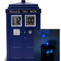 BBC America Shop - Doctor Who: TARDIS Projection Alarm Clock