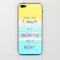 Justin Bieber iPhone &amp; iPod Skin by Mnika  Strigel