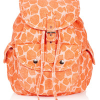 Denim Giraffe Backpack - Topshop USA