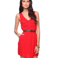 Dainty Ruffle Dress | FOREVER21 - 2002929950