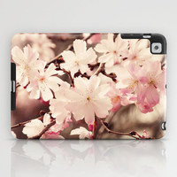 Cherry Blossom iPad Case by Erin Johnson