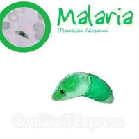 Giant Microbes Malaria (Plasmodium Falciparum) Plush Toy