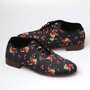 Obey X Generic Surplus Dury Oxford Shoe - Floral Print