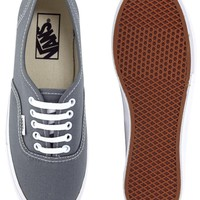 Vans Authentic Slim Grey Trainers