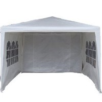 STRONG CAMEL Wedding PartyTent 10x10 Outdoor Eazy Set Gazebo Pavilion Canopy BBQ Cater Events: Sports & Outdoors