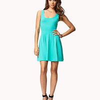 Basic Fit &amp; Flare Dress | FOREVER 21 - 2049959810