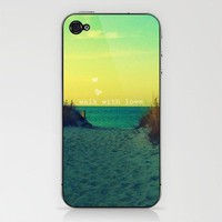 Walk In Love iPhone & iPod Skin by RDelean | Society6