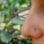 Nose Ring Stud 14K Gold Filled Handcrafted by Holylandstreasures