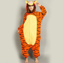 NEW Jump Tiger Pajamas Adult Unisex Animal Costume Cosplay Onesuit Sleepwear