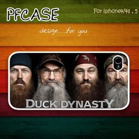 Hey! Duck Dynasty : For Iphone 4/4s ,5 / Samsung S2,S3,S4