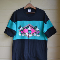 Vintage 1980s Mickey Mouse T Shirt Disney by founditinatlanta
