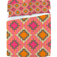 DENY Designs Home Accessories | Sharon Turner Tangerine Kilim Sheet Set