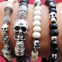 Benvolio Skull Bracelet from LinksAndChains