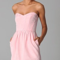 Shoshanna Sweetheart Strapless Dress | SHOPBOP