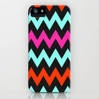 Zigzag #7 iPhone & iPod Case by Ornaart