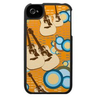 Vintage Guitar Speck iPhone 4 Case from Zazzle.com